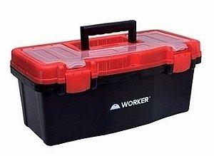 """Caixa Plástica Para Ferramentas 16"""" Worker"""