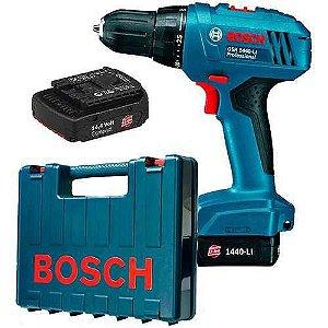 Parafusadeira Furadeira A Bateria GSR1440-li 127v Profissional - Bosch