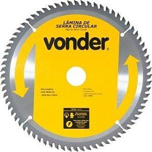 Lâmina De Serra Circular 250mx30mm 72 Dentes - Vonder