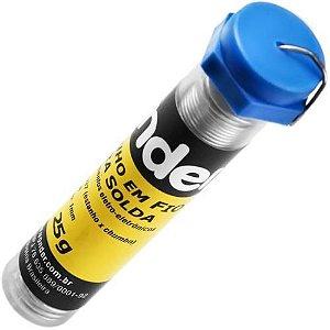 Estanho Em Fio Tubinho Para Solda 1mm 25g - Vonder