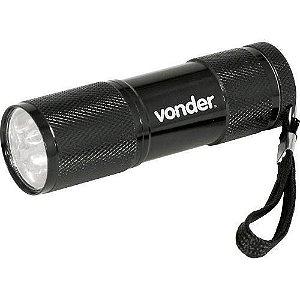 Lanterna Chaveiro Com 9 Leds Llv0009 - Vonder