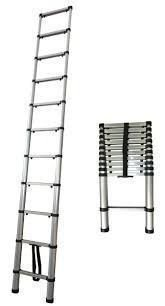 Escada Telescópica Alumínio Worker 13 Degraus 3,90m Promoção