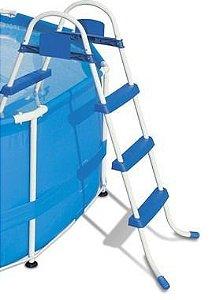 Escada Para Piscina 3 Degraus Premium Bel
