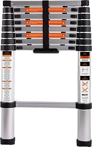 Escada Telescópica Em Alumínio com 2,6m Belfix
