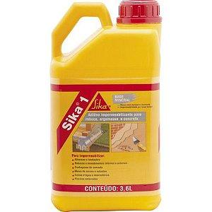 Aditivo impermeabilizante 3,6 litros SIKA
