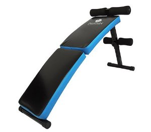 Prancha Abdominal Sit-up Bench Dobrável Com Altura Regulável