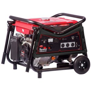 Gerador De Energia A Gasolina 6500w Bivolt Tg8000cxev Toyama