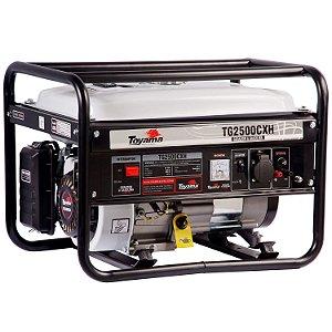 Gerador De Energia A Gasolina 2000w Tg2500cxh 127v Toyama