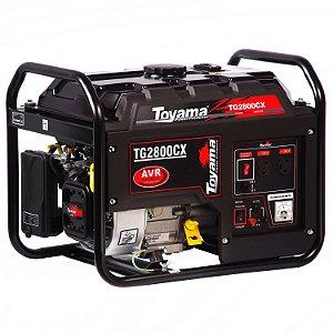 Gerador De Energia A Gasolina 2500w Tg2800cx Bivolt Toyama