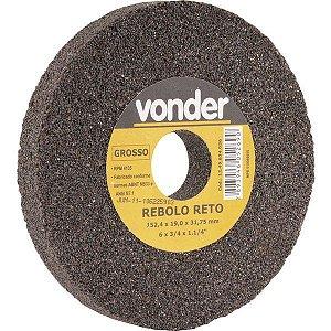 Rebolo Reto 6 X 3/4 Grosso - Vonder