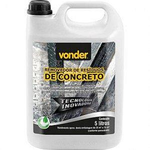 Removedor de residuos de concreto 5 litros Vonder