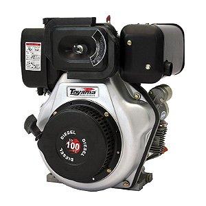 Motor A Diesel 10.0 Hp Td100fe Partida Elétrica - Toyama
