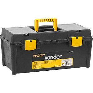 Caixa Plástica/maleta Vdc 4035 Com 1 Bandeja - Vonder