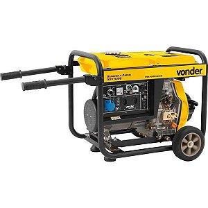 Gerador A Diesel Gdv 5500 127v / 220v - Vonder