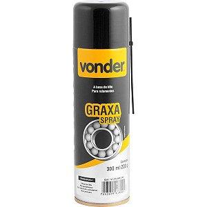 Graxa Em Spray Branca 200g Vonder