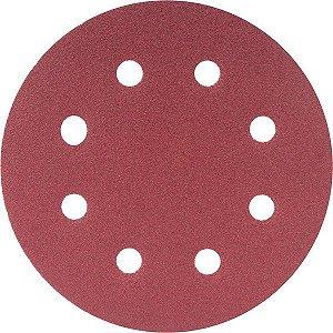 Disco De Lixa Com 180mm Grão 100 P/ Lixadeira Lpv 750 Vonder