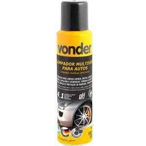 Limpador Multiuso Para Autos Tipo Spray 4x1 150ml Vonder