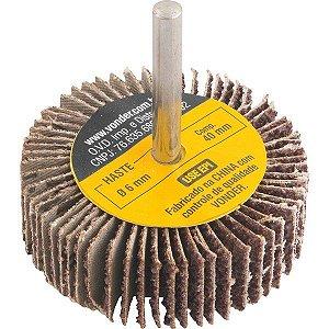 Roda De Lixa 60mm X 20mm Com Haste Vonder