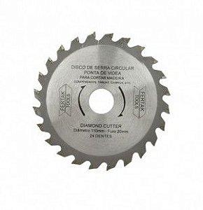 Disco De Serra Circular 20 X 110 X 24t Fertak