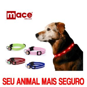 COLEIRA PET COM LED