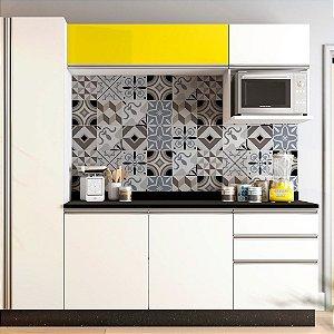 Adesivo de azulejo geométrico style