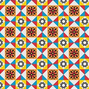 Adesivo de azulejo pop color