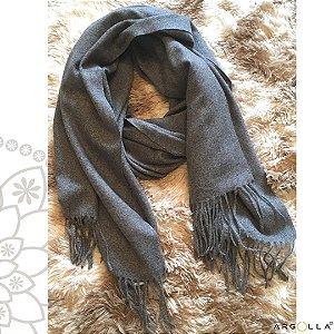 Pashimina de lãzinha/ cinza