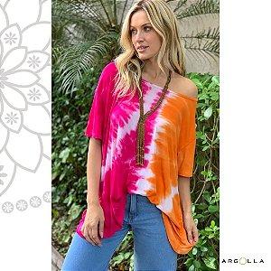 Blusa Tie Dye Pink