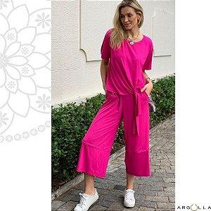 Conjunto Pantacourt Fênix - Pink