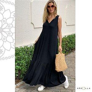 Vestido Comfy Cayman - Preto
