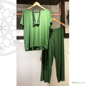 Conjunto Pantacourt Básico-Verde