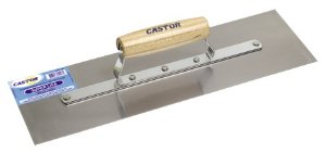 Desempenadeira Aco Lisa 400mm Castor (PÇ)