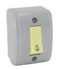 Interruptor Externo/sobrepor Campainha 30007 Mectronic (PÇ)