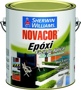 Tinta Epoxi 3,6l Branco 100 Novacor Sherwin-williams (PÇ)
