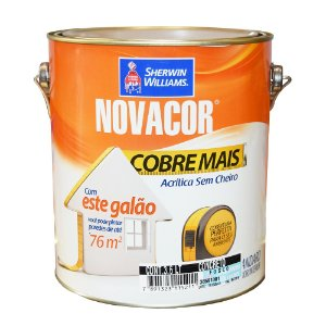 Tinta Novacor Parede Cobre+ 3,6l Vd Ca Sherwin-williams (PÇ)