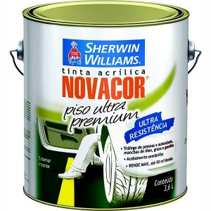 Tinta Piso 3,6l Cinza Novacor Sherwin-williams (PÇ)