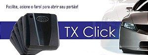 Controle Tx Car Rossi Aciona Portão Com Farol Alto Do Carro