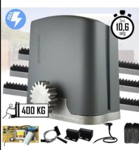Kit Motor de Portão PPA Automatizador Deslizante 1/4 HP DZ RIO 400