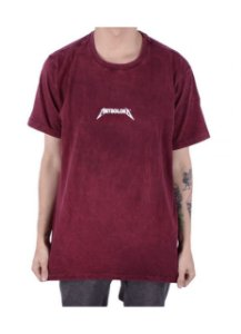 Camiseta Chronic MeteOLoko - Vinho