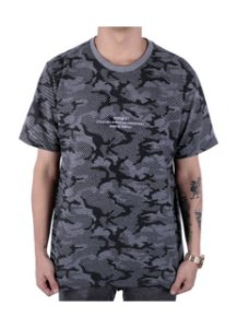 Camiseta Chronic Camuflada Cinza