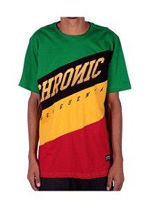 Camiseta Chronic Reggae Inclinadas