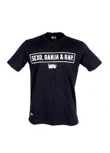 Camiseta Chronic Sexo, Ganja & Rap
