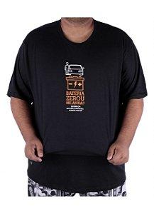 Camiseta Chronic Big Bateria Zerou, Me Ajuda? - Chupeta