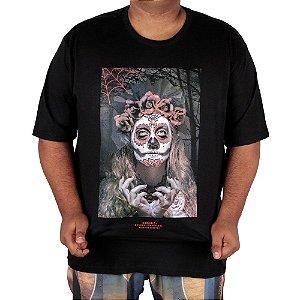 Camiseta Chronic Big Caveira Mexicana