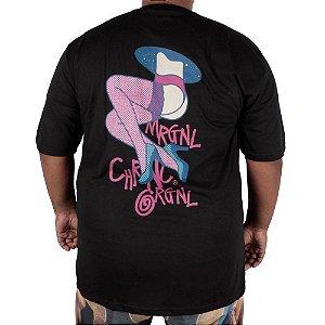 Camiseta Chronic Big Mulher Rosa