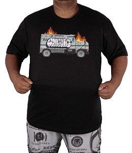 Camiseta Chronic Big truck on fire