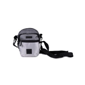 Shoulder Bag Chronic Cinza com Prata