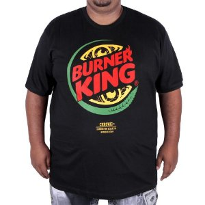 Camiseta Chronic Big Burner King - Burger King