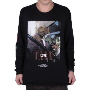 Camiseta Chronic Manga Comprida - Thug Love