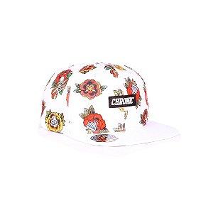 Boné Chronic Rosas - Branco